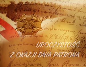 Zaproszenie na uroczystość z okazji Dnia Patrona
