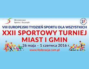 VIII Europejski Tydzień Sportu dla Wszystkich 2016