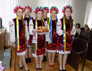 Z wizytą w Irpieniu i Kijowie