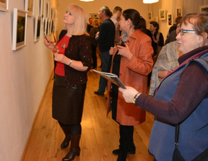 Wernisaż wystawy Joanny Beaty Ćwik.