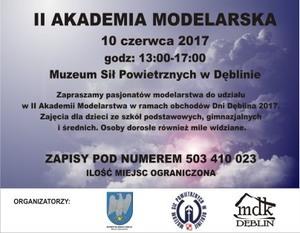 II AKADEMIA MODELARSKA - 10.06.2017 r.