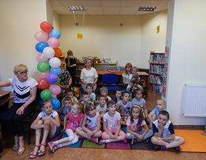 Dnia Dziecka w Bibliotece