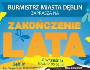 ZAPROSZENIE NA ZAKOŃCZENIE LATA - 02.09.2017 R.