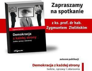 Miejska Biblioteka Publiczna ul. Okólna 19 zaprasza w dniu  27 listopada na godz. 16.00 na spotkanie z prof. zw. dr hab ks Zygmuntem Zielińskim.