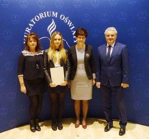 Uczennica Liceum Ogólnokształcącego w Dęblinie wśród najlepszych w województwie lubelskim.