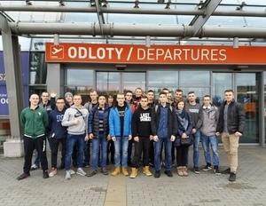 Uczniowie z ZSZ nr 1 w Dęblinie reprezentują swój kraj w Irlandii