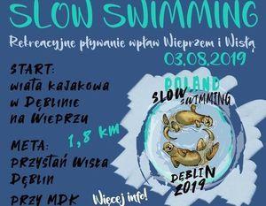 Dęblin Slow Swimming - Rekreacyjne Pływanie wpław Wieprzem i Wisłą