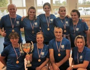 Reprezentacja OPS w Dęblinie wywalczyła III miejsce w Turnieju Piłki Siatkowej