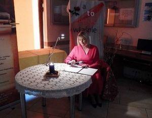 WYDARZENIE SŁOWNO-MUZYCZNE W WYKONANIU AKTORKI DOMINIKI CHOROSIŃSKIEJ (FIGURSKIEJ)