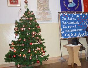 Podziękowania za udział w Mikołajkowym Koncercie Charytatywnym