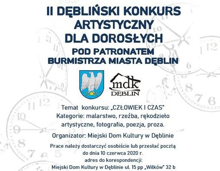 II Dębliński konkurs artystycznych dla dorosłych pod patronatem Burmistrza Miasta Dęblin