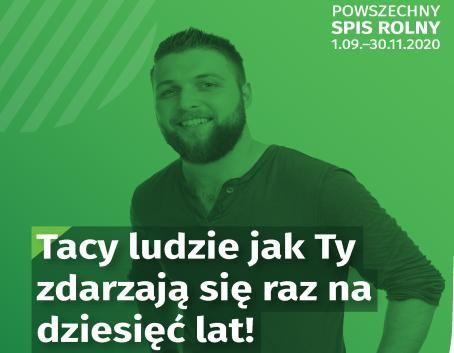 NABÓR KANDYDATÓW NA RACHMISTRZA TERENOWEGO W SPISIE ROLNYM 2020
