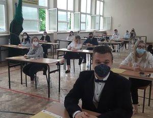 Egzamin maturalny w reżimie sanitarnym w ZSZ nr 2