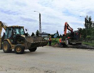 Modernizacja sieci wodociągowych i budowa kanalizacji w os. Michalinów