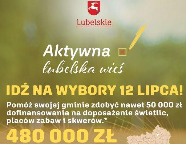 "Konkurs ""Aktywna lubelska wieś"""