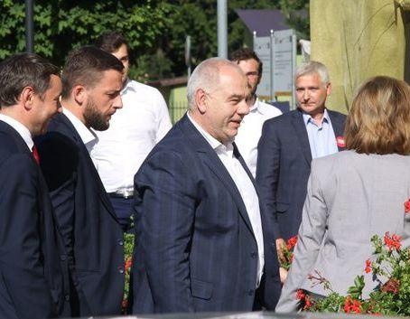 Wicepremier Sasin w Dęblinie.