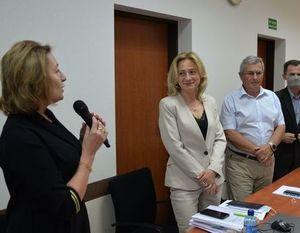 Burmistrz Siedlecka jednogłośnie otrzymała absolutorium.- zdjęcie z fotogalerii