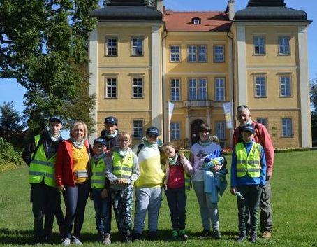 Harcerski start drużyn Nieprzetartego Szlaku ze  Specjalnego  Ośrodka  Szkolno – Wychowawczego w Dęblinie