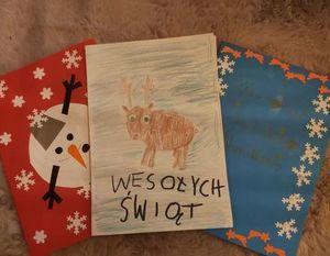 Prace wykonane przez dzieci z domu dziecka autor: ks. Dariusz Wójcik