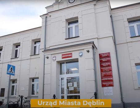 Budynek Urzędu Miasta Dęblin