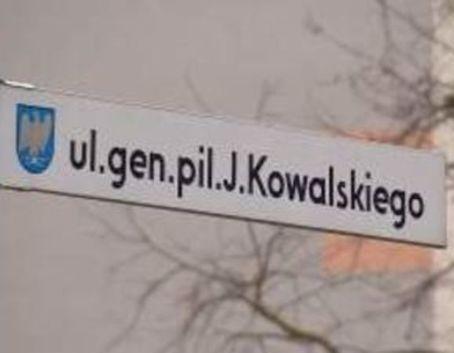 Zdjęcie tabliczki ulicy
