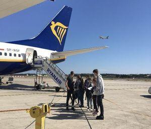 Samolot z pasażerami