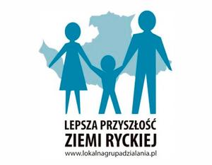 Logo Lokalna Grupa działania ziemi ryckiej