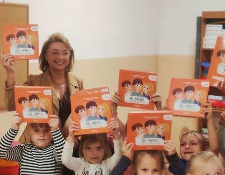 Dzieci z Panią Burmistrz