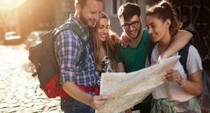 Grupa turystów