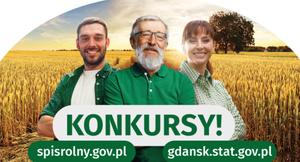Grafika z napisem KONKURSY! spisrolny.gov.pl gdansk.stat.gov.pl