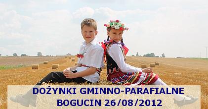 Dożynki Gminno-Parafialne Bogucin 26/08/2012