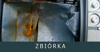 Zbiórka elektrośmieci w miejscowości Garbów