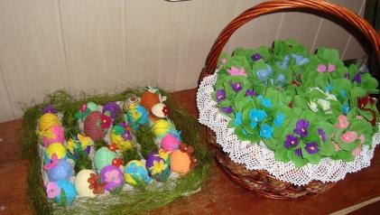 Wielkanocny kiermasz Pod palemką