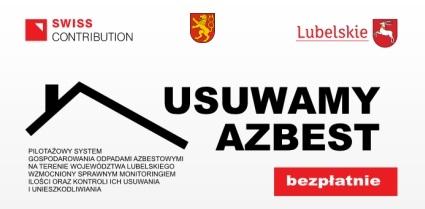 Nabór wniosków od 3 - 28 listopada 2014 r. na demontaż i utylizację azbestu w roku 2015