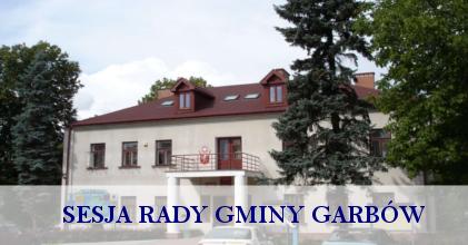 Zaproszenie na XXIX Sesję Rady Gminy Garbów