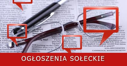 Ogłoszenia Sołeckie