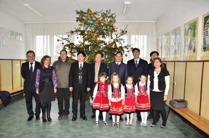 Goście z Chin w Garbowie