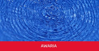 Awaria wodociągu w Garbowie przy ulicy Warszawskiej