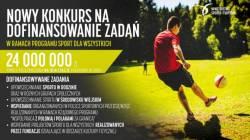 """Nabór wniosków do Programu """"Sport dla wszystkich"""" w 2018 r."""