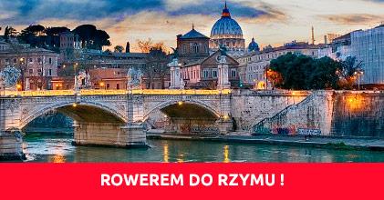 Rowerem z Garbowa do Rzymu !