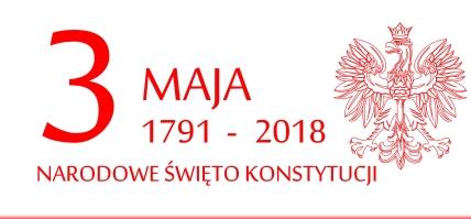 Zaproszenie na obchody Święta Narodowego 3 Maja 2018 - przypominamy