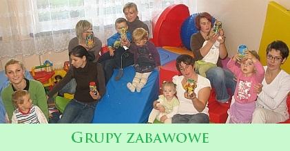 Grupy Zabawowe rok szkolny 2018/2019