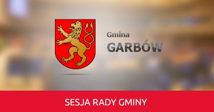 Zaproszenie na XXXIV Sesję Rady Gminy Garbów 28.09.2018