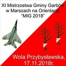 XI Mistrzostwa Gminy Garbów w Marszach na Orientację MIG 2018