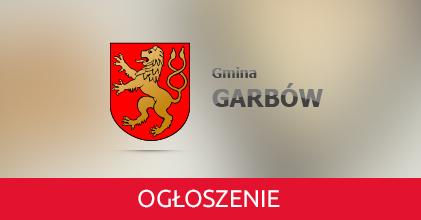 Obwieszczenie Wójta Gminy Garbów z dnia 8 listopada 2018 r. w sprawie konsultacji