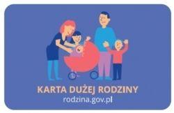 Od 2019 r. Karta Dużej Rodziny dla wszystkich rodziców przynajmniej trojga dzieci