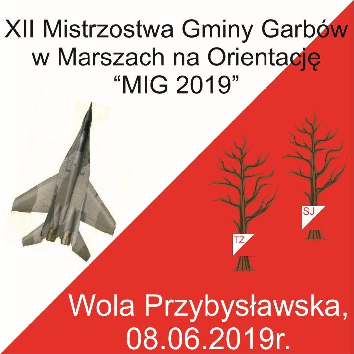 XII Mistrzostwa Gminy Garbów w Marszach na Orientację MIG 2019