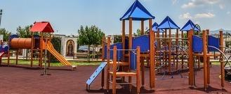 Budowa placu zabaw we wsi Wilczopole Kolonia
