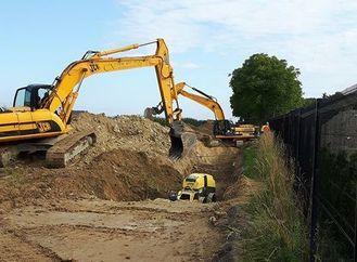 Projekty kanalizacyjne w realizacji