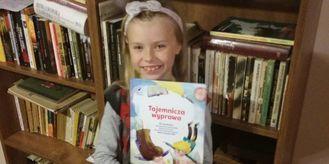 Ośmioletnia pisarka